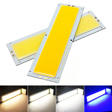 """10 Вт Светодиодная лампа типа """"Кукуруза"""" чип 12 В лампа светодиодный панель полосы для DIY домашнее освещение лампы для работы DC12-14V 120 мм x 36 мм Теплый Холодный белый синий красный"""