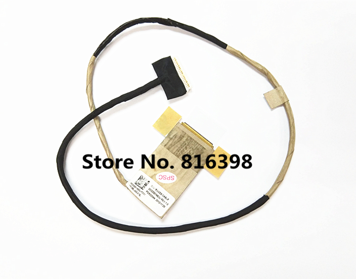 Brand New Cable For Lenovo Y500 Y500P Y510 Y510P Screen Cable LCD CABLE DC02001ME0J Free Shipping