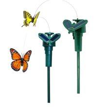 FBIL-2x Dancing Creative toys on garden tools Garden lawn Flowerpot Flower bed Decoration ornament, color Random (solar butter