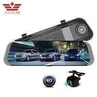 ANSTAR Car DVR HD Camera Car Mirror 1080P 4G ADAS 10 RearView Mirror Registrar Speaker For Cars Mirrors GPS Navigator Dash Cam