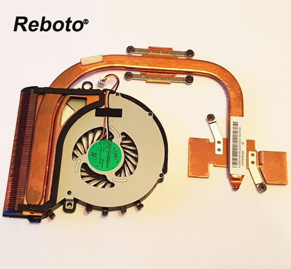 Reboto For SONY VAIO SVF152 SVF152A29M Laptop Cooler Radiator HeatSink With FAN P N 3VHK9TMN020 100