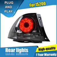 car styling For Lexus IS200 taillight assembly 2007 2014 for IS200 rear lights dedicated car light led taillight light with 4pcs