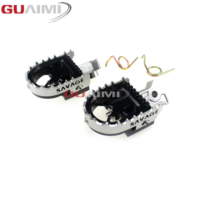 Motorcycle Adjustable Foot Peg Enduro Tilt Angle Foot Rests Accessories For Yamaha YZ85 2002 - 2015 YZ125 YZ250 YZ 85 125 250 plastic motorcycle body kit for yamaha yz85 2002 2014 motocross dirtbike supermoto enduro page 1 page 2