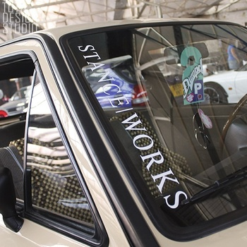 Online Shop XGS DECAL Car Decal Front Windshield Post Vw Sports - Front window stickers for car