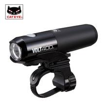 CATEYE Usb Rechargeable Bike Light Front Handlebar Cycling Lamp Light Waterproof Flashlight Torch Headlight Bicycle Accessories