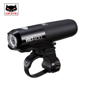 Image 1 - CATEYE Usb Rechargeable Bike Light Front Handlebar Cycling Lamp Light Waterproof Flashlight Torch Headlight Bicycle Accessories