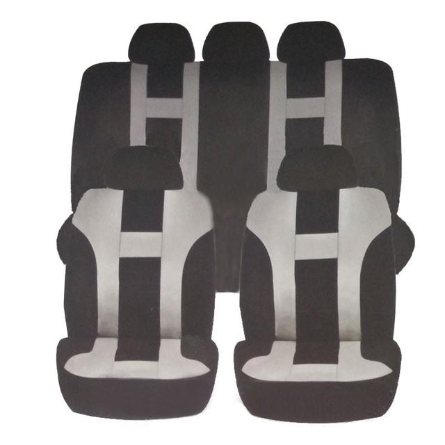 Tamaño para hatchback y sedán de coche cubierta de asiento de coche universal airbag disponible asiento trasero no puede ser escindida del interior del coche cubierta