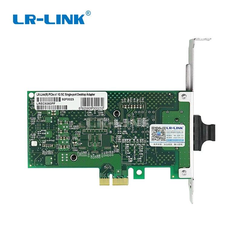 Image 4 - LR LINK 9260PF Gigabit Ethernet Network Card 1000base lx PCI Express Fiber Optical Lan Card Server Adapter Desktop Intel 82576-in Network Cards from Computer & Office