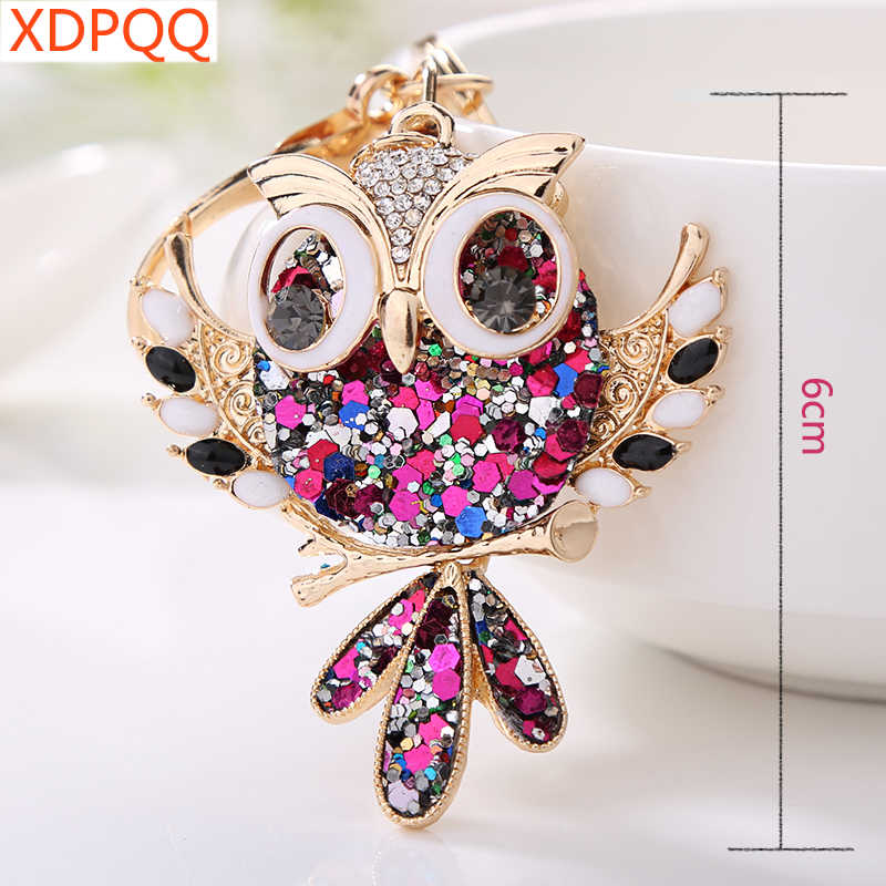Detail Feedback Questions about Jewelry Gifts Fashion Jewelry Cute Owl  Keychain Women s Accessories Car Pendant Creative Animal Keychain  Exaggerated ... 196fd59a2