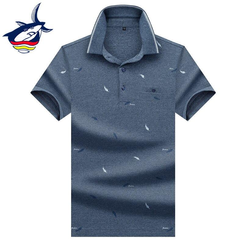 Solid cotton men's   polo   shirt menswear 2019 Summer casual brand Tace & Shark   polo   shirt men short sleeve breathable tops & tees