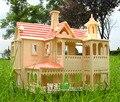3D пазлы для взрослых и детей старшего возраста строительство соберите строительные деревянные игрушки для детей, обучающихся и обучающих игрушек