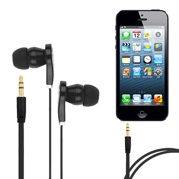 MAYITR 3.5mm In Ear Flat Noodle Earbuds Earphone Noise Canceling Headset Universal For Cell phone MP3 Player original mrice e300 3 5mm jack in ear earphone earbuds computer tablet phone universal headset earbuds in stock
