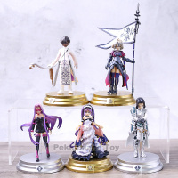 Japan Anime Game Fate Grand Order Duel vol.3 5pcs/set Saber Lancer Ruler Archer Caster Collection Figure Model Toys