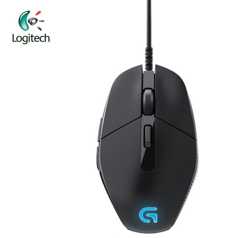 Logitech G302 Wired Gaming Mouse with Breathe Light 4000dpi USB Interface Support Office Test for PC Game Windows10/8/7 original logitech g102 gaming wired mouse optical wired game mouse support desktop laptop support windows 10 8 7