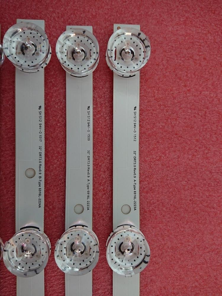 100% Nuevo 3 piezas (2 * A, 1 * B) tira de LED para LGIT A B LG - Juegos y accesorios