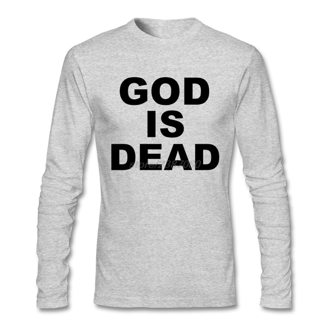 078b82add02e Round Neck Tshirt Man Great Discount GOD IS DEAD T-Shirt For Man New Coming T  Shirt Software