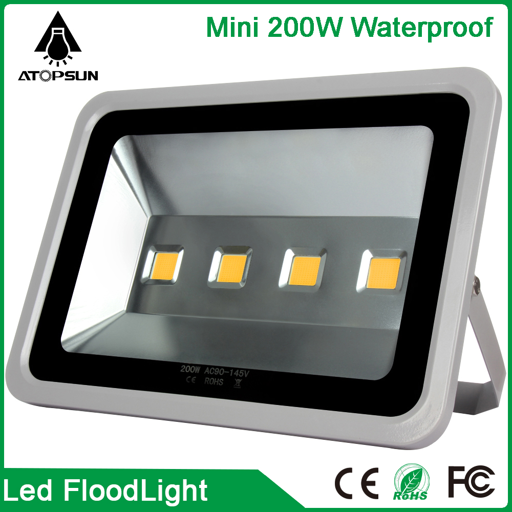 1PCS LED Flood Light 200W Waterproof IP65 Superbright Spotlight 220V for Street Highway Outdoor Led FloodLight Lamp Garden Light ultrathin led flood light 200w ac85 265v waterproof ip65 floodlight spotlight outdoor lighting free shipping