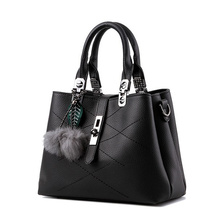 Brand New Fashion Fur Women Bag Handbags Women Famous Designer Women PU Leather Handbags Luxury Ladies