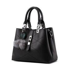 Brand New Fashion Fur Women Bag Handbags Women Famous Designer Women PU Leather Handbags Luxury Ladies Hand Bags Shoulder Sac