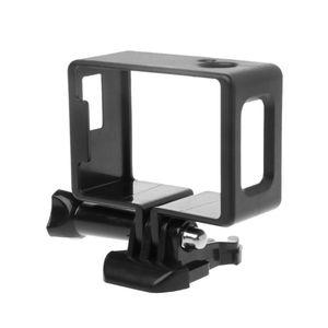 Image 4 - 1 Set Koruyucu Çerçeve Sınır Yan Standart Shell Konut Case Toka Montaj Aksesuarları için SJ6000 SJ4000 Wifi Eylem Kamera Kamera