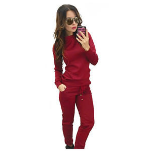 XINTOWN Women Suit Pant female Tracksuit 2 Pieces Set