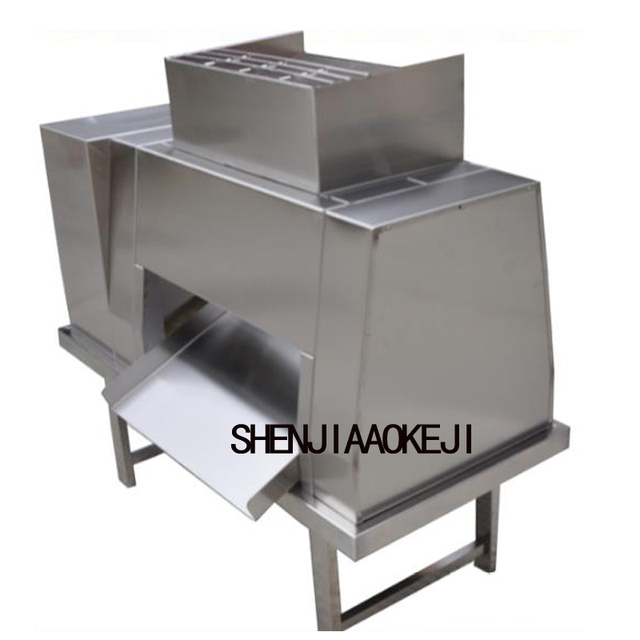 QL Stainless steel  meat slicer machine meat processing cutting machine Large meat cutter 380V 2200W 1PC