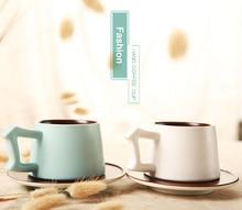 Japanese style Luxury Enamel Coffee Mug Set Ceramic Tea Milk Drinkware Fashion Creative China Bone Friend Gift