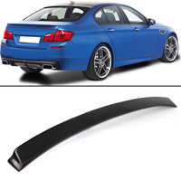 Real Carbon Fiber Sport Rear Roof Window Spoiler wing Lid Spoiler for BMW F10 M5 550i 2011 2016