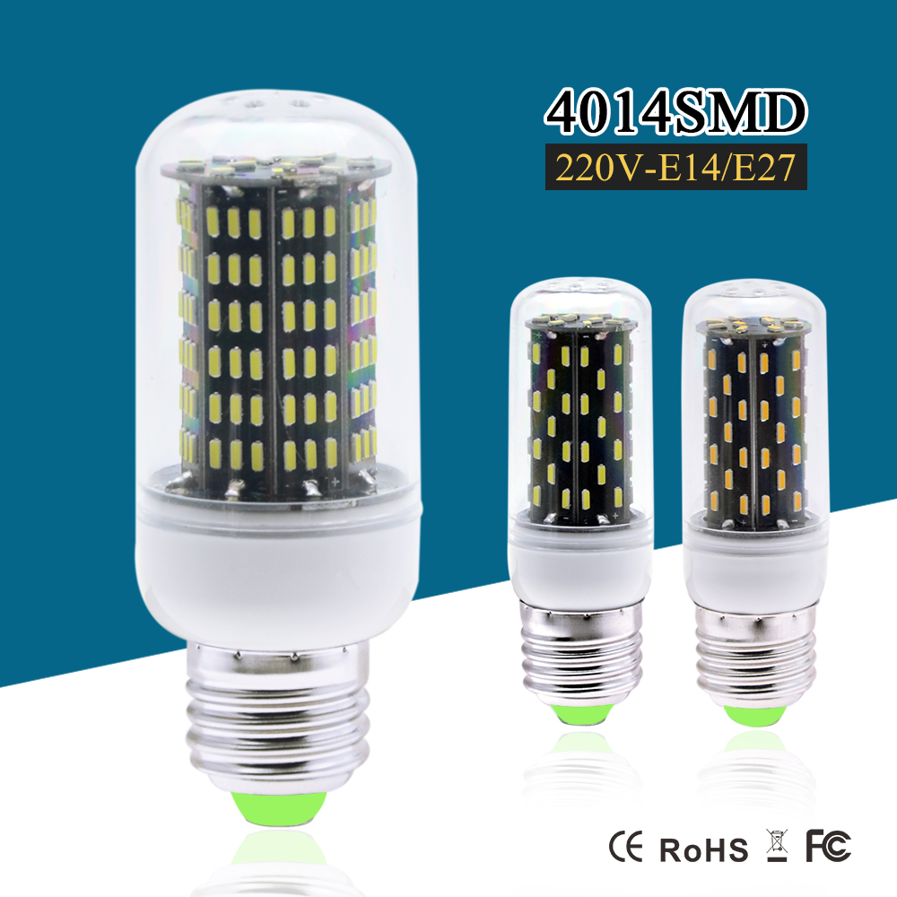 e27 e14 dimmable led corn lamp smd4014 10w 5w lampada led. Black Bedroom Furniture Sets. Home Design Ideas