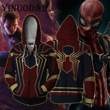 Fans Made Sweatshirt Amazing SpiderMan Black Spider Venom Hoodie Hooded