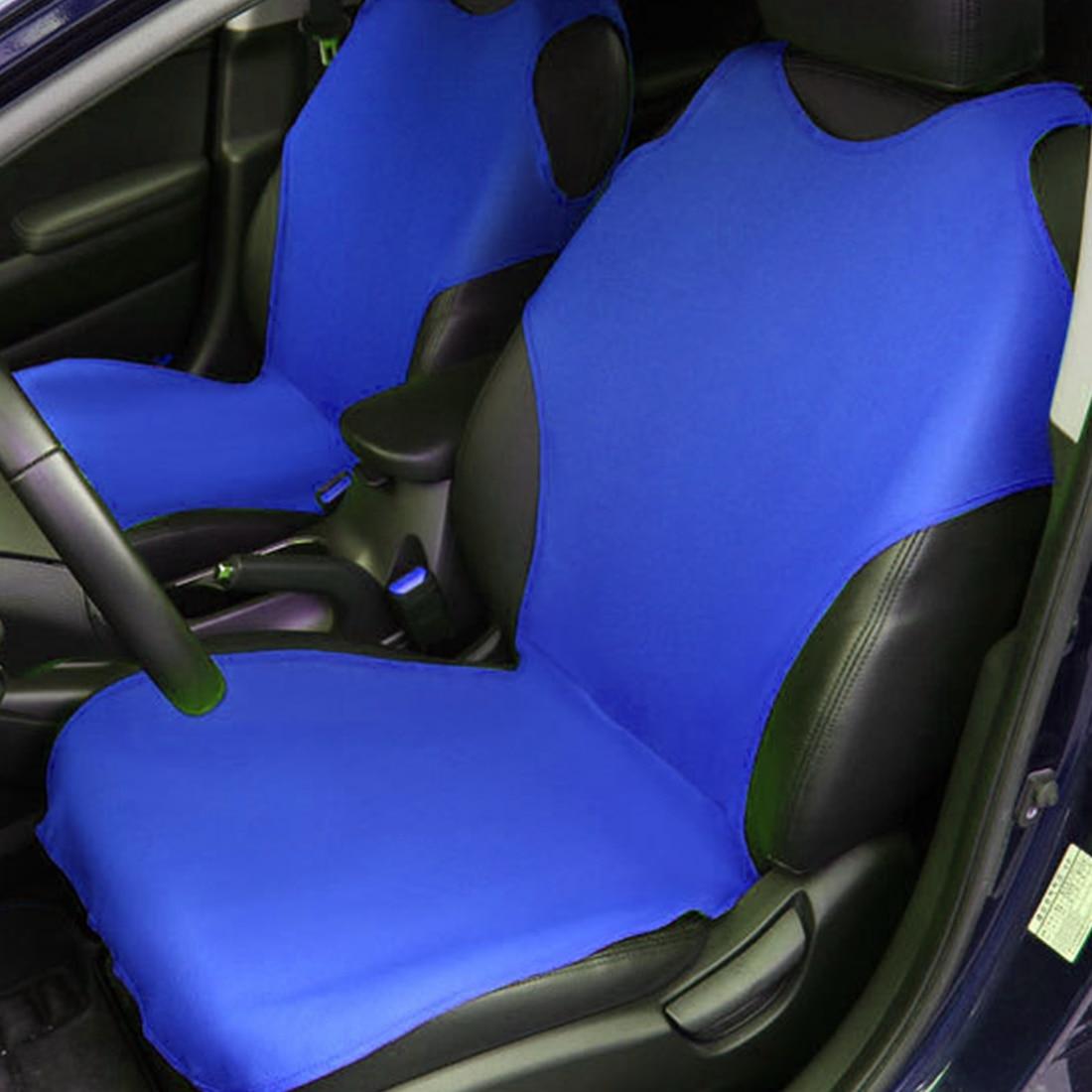 Airbag Compatibel Seat Cover Protector Pu Leer Nieuwe Auto Bekleding Universele Vest Voorste Auto Stoelhoezen Interieur Accessoires Verschillende Stijlen