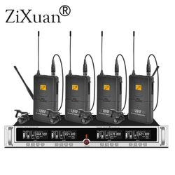 2019 NEW  ZX-8416-L SP4 - SKM9000 19 Rack Mountable UHF Wireless Microphones System conference home Karaoke handheld microphone