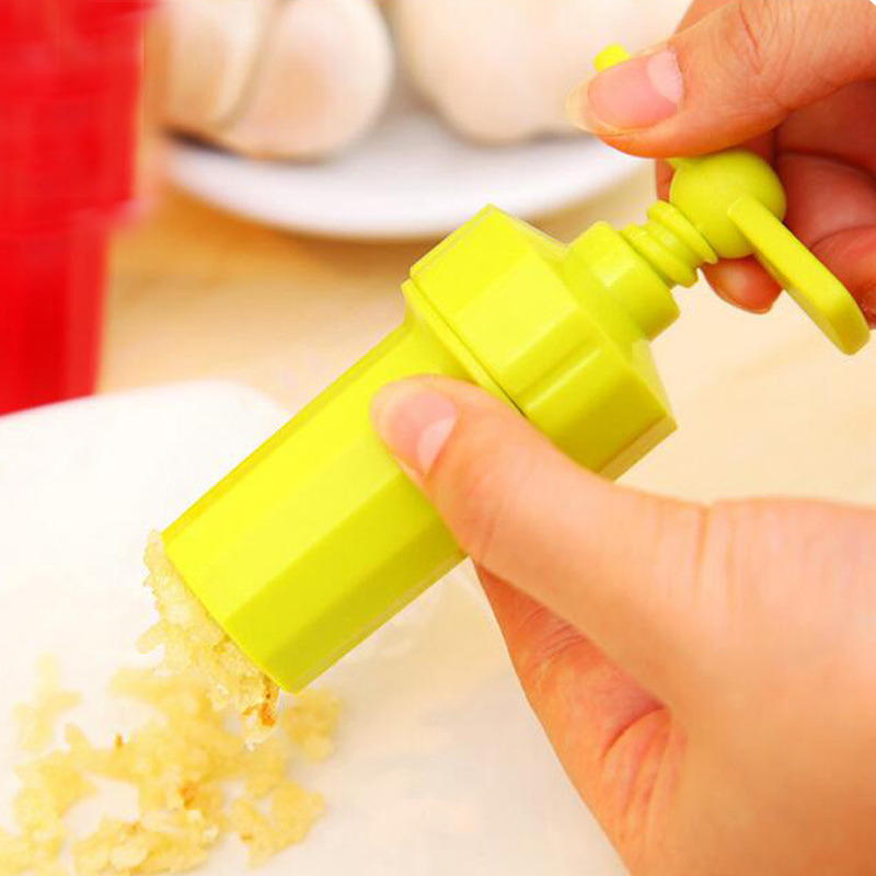 Kitchen Gadgets Home Quality Thick Plastic Garlic Device Multi Manual Garlic Pre