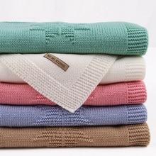 דברים תינוקות שמיכת אקריליק קיץ Infantil לעטוף החתלה שמיכת עגלת בגדי Cobertor חודשי ילד שמיכה