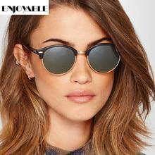 Zonnebril Dames Sunglasses Shade for Women Men Round Vintage