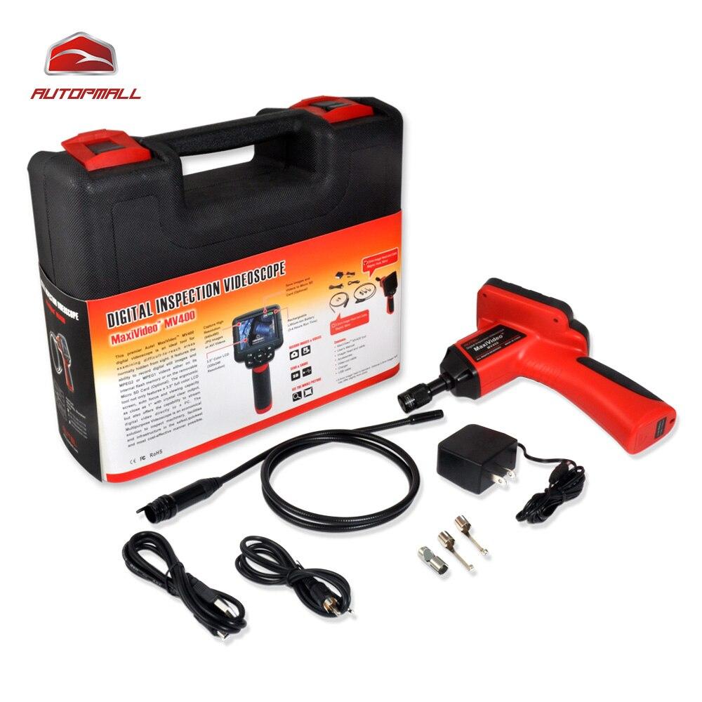 Prix pour De diagnostic Videoscope Caméra Autel Maxivideo MV400 8.5mm Numérique Inspection Endoscopique Endoscope Diamètre Tête Imageur