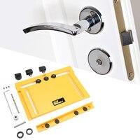 NE Cabinet Handle Door Hole Opener Plastic Drilled Woodworking Tools
