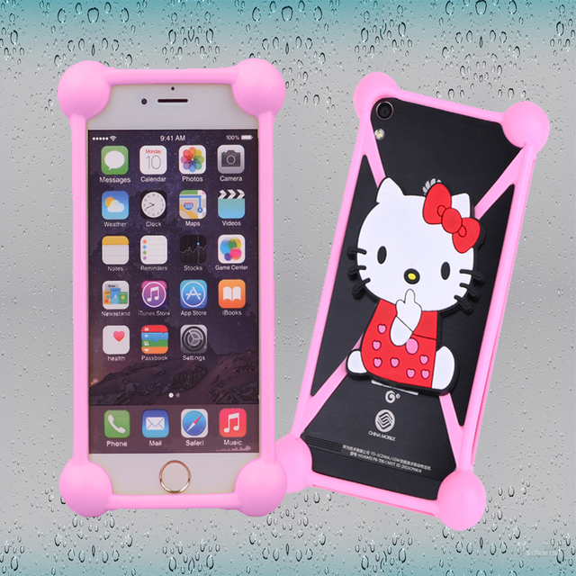 super popular 8a8a7 bf987 US $2.99 |Fundas for leagoo Elite 1/leagoo Z5/Z5 LTE cases silicon Cute  Cartoon Silicone Universal Phone Holster Silicon Coque Cover on  Aliexpress.com ...
