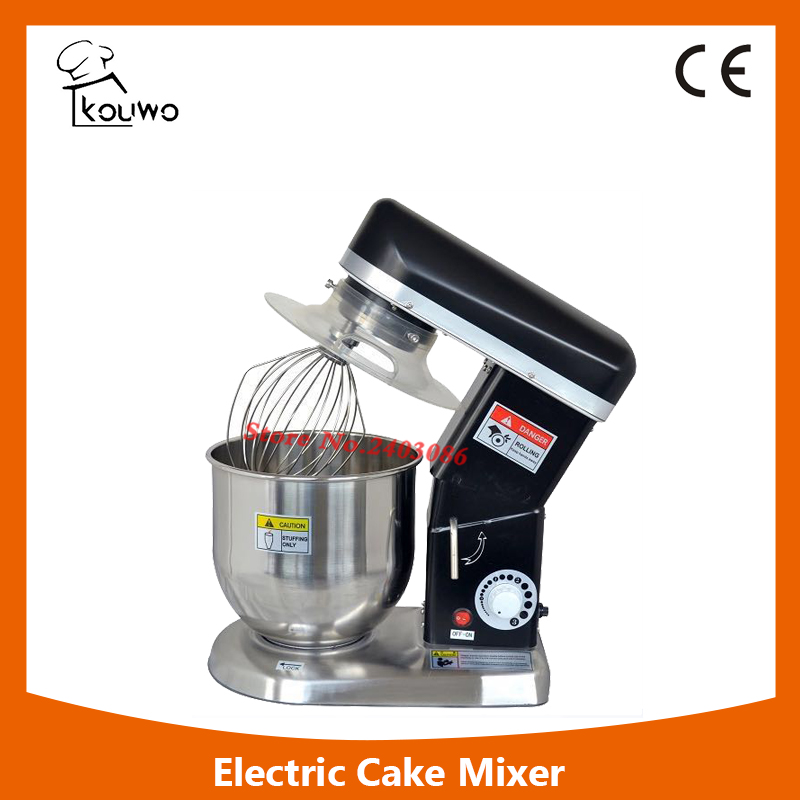 KW-B7 Home use 7 Liters electric stand pizza dough maker machine, planetary mixer, dough hook,cake or bread mixer machine kairos kairos kw 9603 b