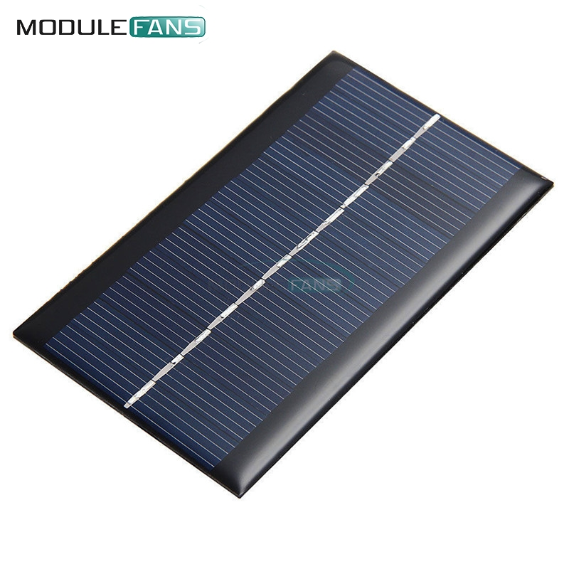 Mini 6v 1w Solar Panel Bank Solar Power Board Module Portable Diy Power For Light Battery Cell Phone Toy Chargers Office Electronics Computer & Office