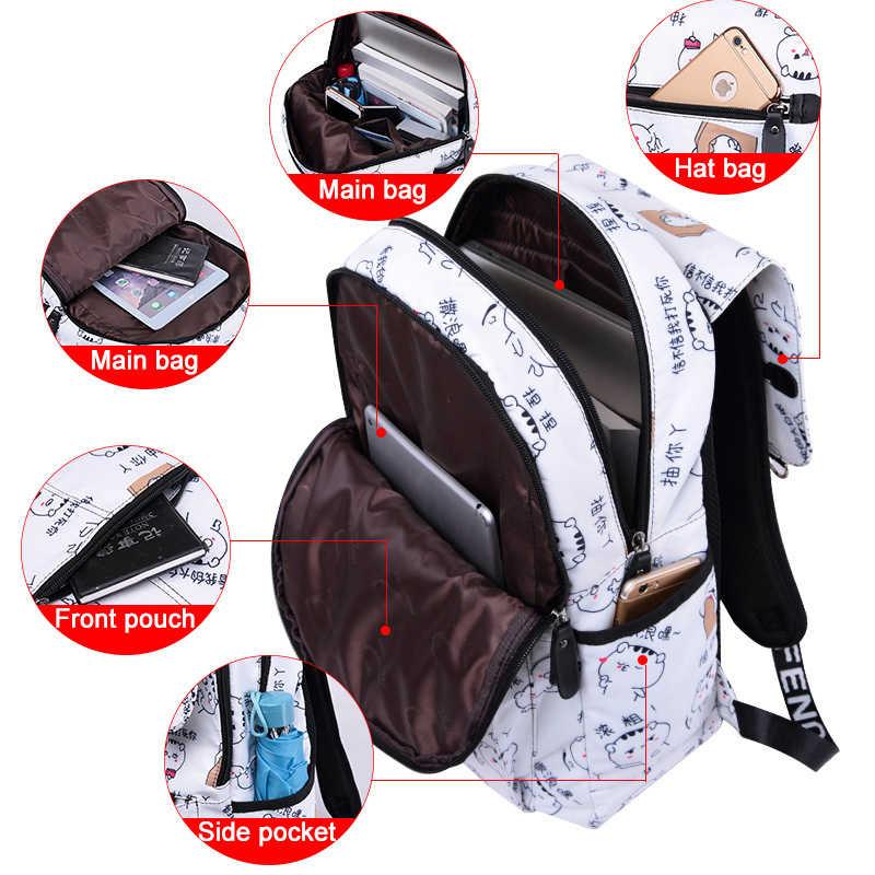 cef5b40ae83d ... 2019 New Emoji School Student Books Bag Women Backpack Cute Girl  Cartoon Best Travel backpacks Female