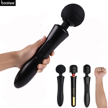 Huge Vibrator AV Magic Wand Massager 20 Speeds Sex Toys for Woman Clit Female G spot Clitoral Stimulator