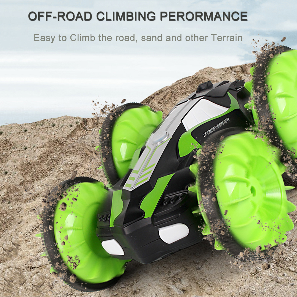 Image 5 - LH C013 2.4GHz Remote Control RC Car Waterproof Off Road Racing Climbing RC Car Amphibious 4WD Remote Control Toys RC Cars-in RC Cars from Toys & Hobbies