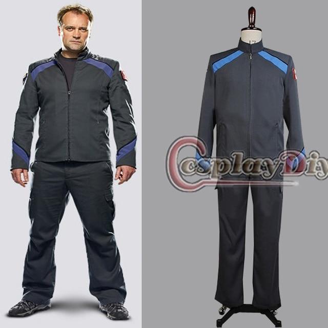 Stargate atlantis samantha carter teyla uniform jacket pants costume.