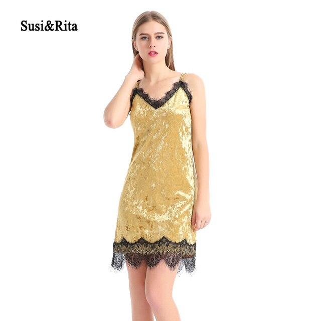 Spaghetti Strap Slip Dress