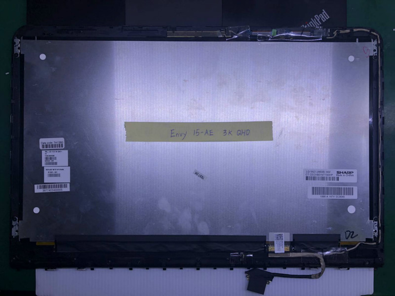 """Glass Digitizer Touch Assembly HP Envy 15-ae076ca 15.6/"""" FHD LCD LED Screen"""