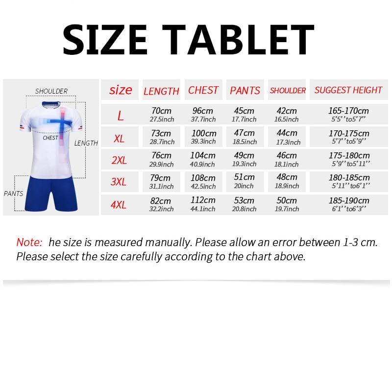 e6ebaa74b7 Jersey Soccer 2019 Survement Football Kit Mens Sports Suits Professional  Football Jerseys Custom Design Tracksuit Soccer Uniform-in Soccer Sets from  ...