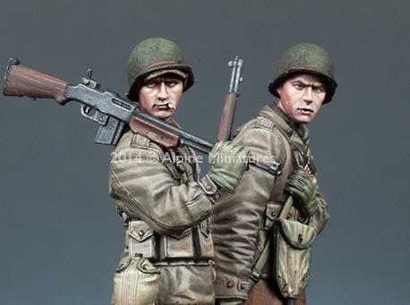 1:35   WW2 US Infantry Set (2 Figures)