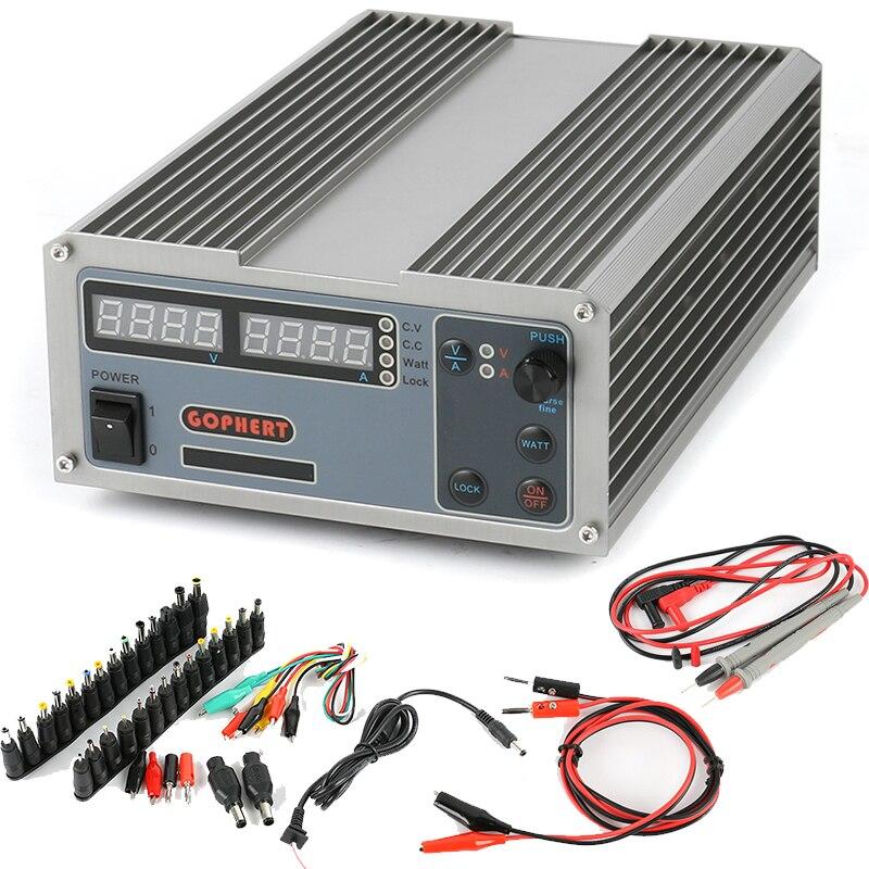 GOPHERT CPS-6011 60V 11A Digitale Einstellbare DC Labor power versorgung High Power Kompakte MCU PFC DC Netzteil
