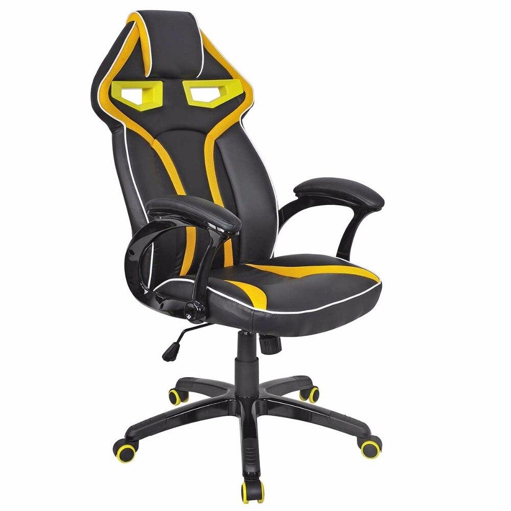 goplus high quality racing bucket seat office computer chair high